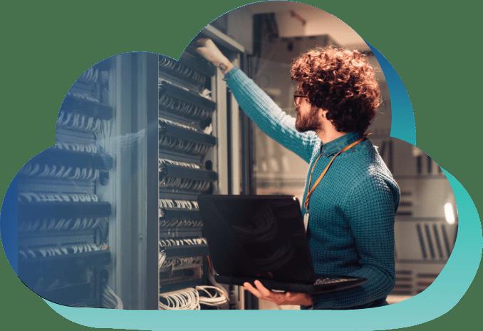 La solution SaaS Oxalys est hébergée sur un serveur Cloud privé et sécurisé entièrement géré par nos équipes techniques