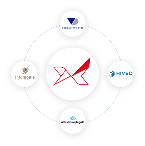 Le logiciel Oxalys permet d'intégrer automatiquement les informations financières et juridiques des fournisseurs depuis les platesformes d'information légales