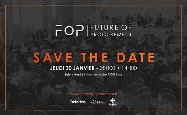Oxalys partenaire du Future of Procurement 2020