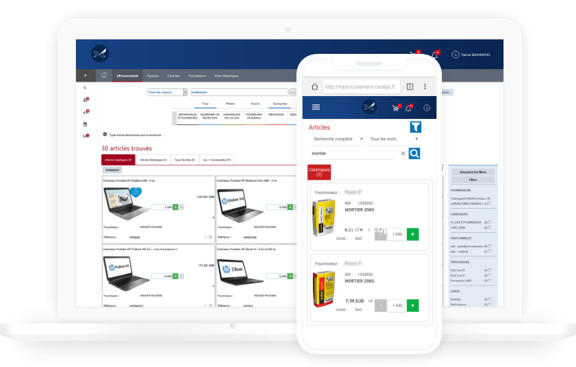 Oxalys Procurement software