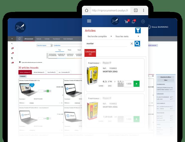 Oxalys Procurement software